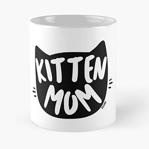 Kitten Cat Mom Lady Mothers Day Best