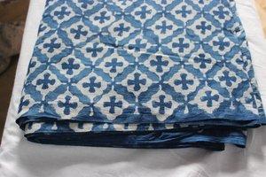 handicraftofpinkcity Dabu Imprimer main bloc coton imprimé Tissu Tissu indien en coton bio doux par 2m
