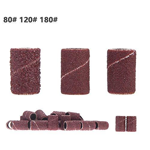 50 Stück/Beutel Nagelpolierkopf Schleifscheibe Sandal Nagel Spezial Poliermaschine Notwendiges Zubehör Maniküre Werkzeug