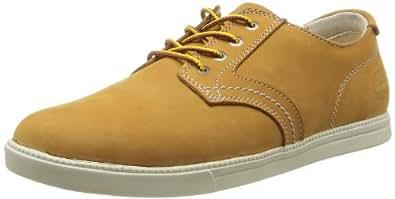 Timberland Newmarket FTB_EK Fulk LP Ox, Herren Sneakers, Braun (WHEAT), 40 EU (6.5 Herren UK)