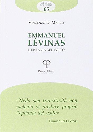 Emmanuel Lvinas. L'epifania del volto