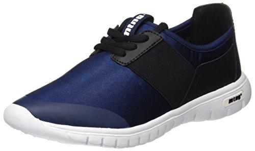 MTNG Speed Chica, Zapatillas de Deporte para Mujer, Azul (Raso Marino), 37 EU