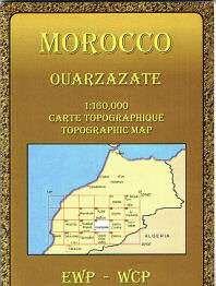 Preisvergleich Produktbild Marokko topographische Karte, Atlas-Gebirge ( Souss-Massa-Draâ) Ouarzazate, Ait Saoun, Agdz, Skoura, El Kelaa M'Gouna, Ourika-Ouaourmas, Toundout, Djel Sarhro, Amerhidif, Tawrirt, Barrage El Mansour Eddahbi, Quirz, Timiderte, Ouaouzagour, topographische Landkarte 1:160.000 mit touristischen Infos in englisch und französisch. EWP / WCP