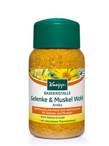 Kneipp Badekristalle Gelenke und Muskel Wohl Arnika, 1er Pack (1 x 500 g)
