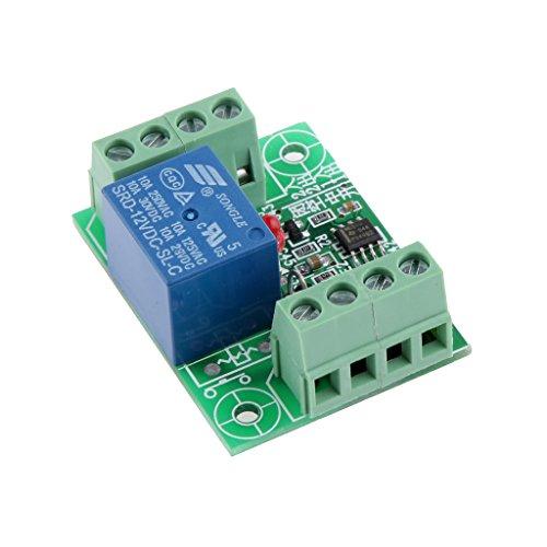 LOVIVER DC12V Elektronische Schalter Steuerrelais Bistabile Trigger Aktion Satzbau -