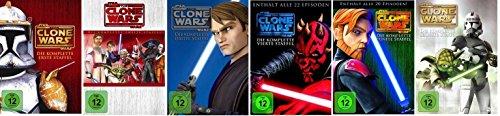 Star Wars: The Clone Wars Staffel/Season 1+2+3+4+5+6 * DVD (Star Wars 6 Wars Clone)