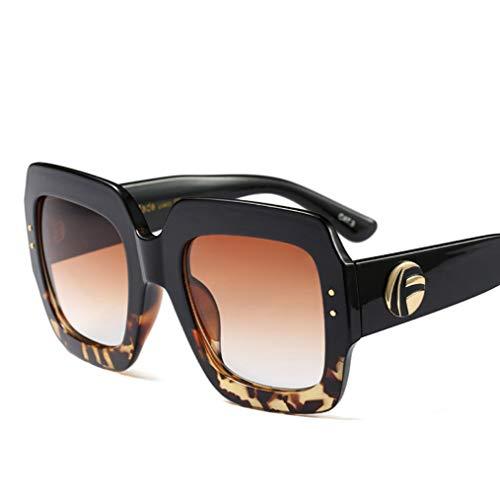 WYJW Europa und die Vereinigten Staaten New Quality Fashion DREI-Farben-Sonnenbrille Benutzerdefinierte Farbe Crystal Tide Coole Sonnenbrille