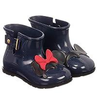 Mini Melissa Girls Disney RAIN Boots - Navy