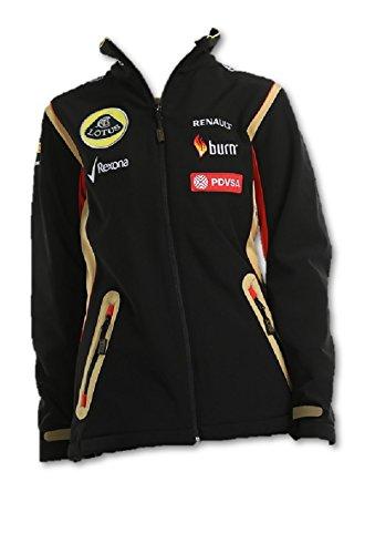 Jacke Damen Softshell Fleece Formel 1Lotus F1® Sponsor 2014/5 Small schwarz - schwarz