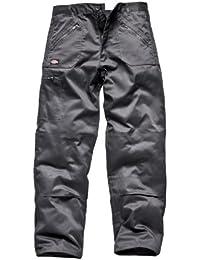 Dickies BK-40R Redhawk Action - Pantalones de trabajo, color negro