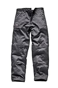 "Dickies Redhawk Action Trousers Short Leg Length 30"" Grey W32"""