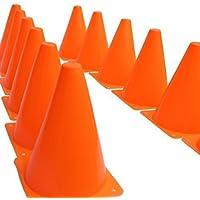 Dazzling Toys Traffic Orange Cones - Pack of 12 (D071)