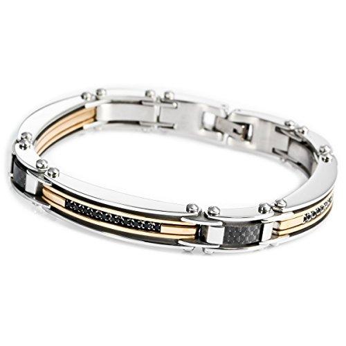 munkimix-acciaio-inossidabile-bracciali-bracciale-braccialetto-collegamento-zirconia-cubica-zircone-