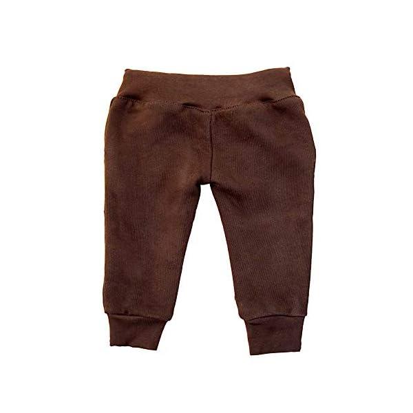 MS-Trachten Pantalón de Jogging Trachten de Invierno marrón bebé Abrigo de Fleece 2