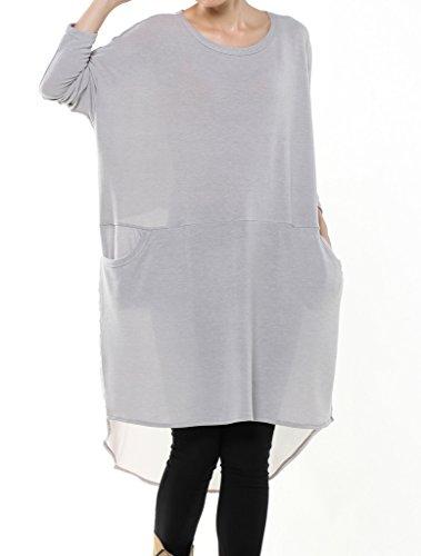 MatchLife -  Vestito  - Vestito - Donna Light Grey