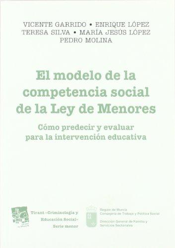 El modelo de la competencia social de la Ley de Menores