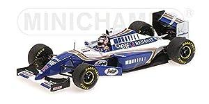 Minichamps-Coche en Miniatura de colección, 417940702, Azul/Blanco