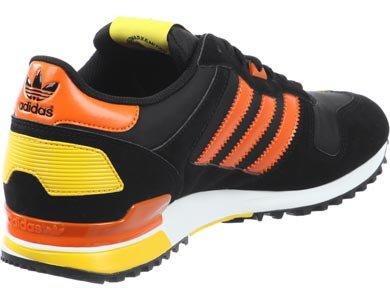 adidas, Scarpe da corsa uomo Nero Black, Orange, Yellow nero - nero