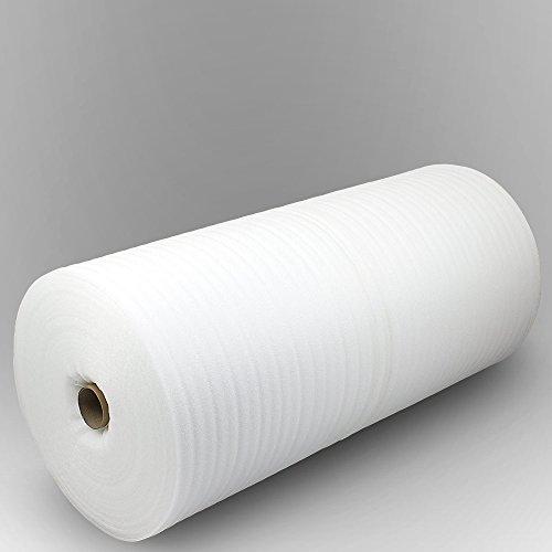 Trittschalldämmung PE-Schaumfolie Dämmung Unterlage Laminat Parkett Stärke:1mm (250m) - 2