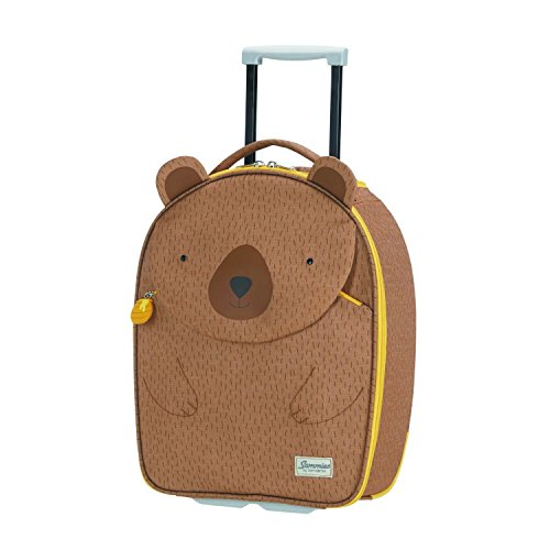 SAMSONITE Happy Sammies - Upright 45/16 Equipaje infantil, 45 cm, 24 liters, Marrón (Teddy Bear)