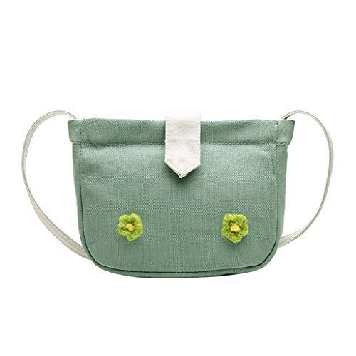 Mitlfuny handbemalte Ledertasche, Schultertasche, Geschenk, Handgefertigte Tasche,Women Fashion Flower Canvas Bag Vielseitige Umhängetasche Messenger Bag