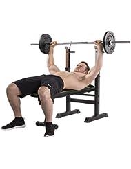 Tunturi WB20Basic Weight Bench banc de musculation, noir, 1