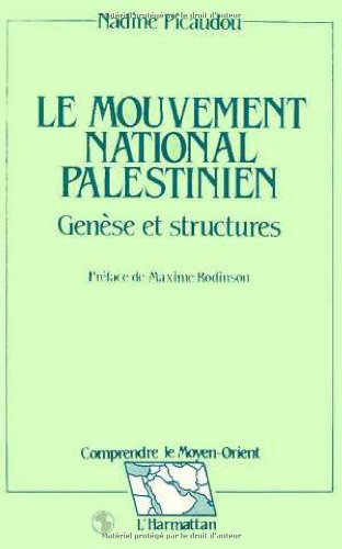 Le mouvement national palestinien, génèse et structures
