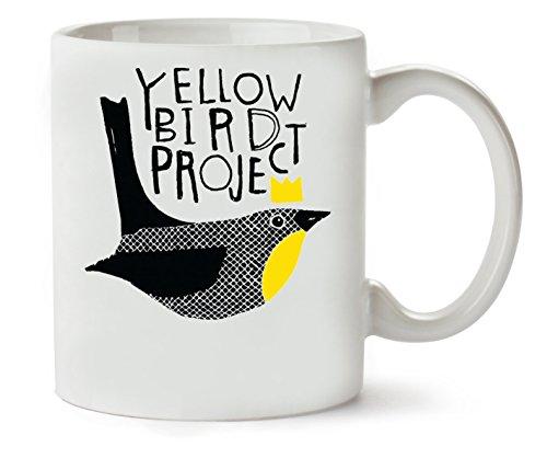 Yellow Bird Project Klassische Teetasse Kaffeetasse (Project Bird Yellow)