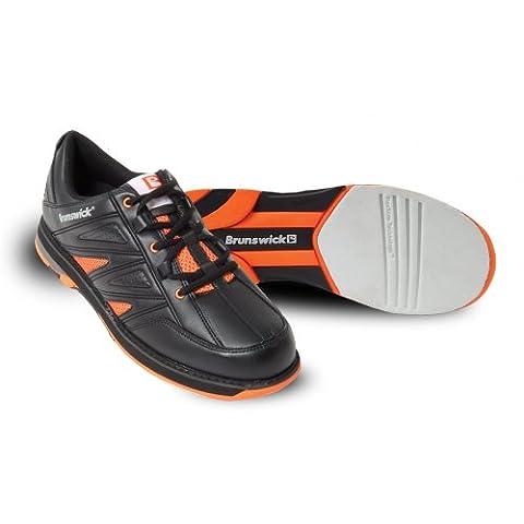 Brunswick Herren Warrior Bowlingschuhe Orange orange US: 7 UK: 5.5