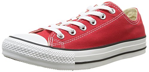 Converse Chuck Taylor All Star Core Ox, Sneaker Unisex, Rosso, Taglia 41.5