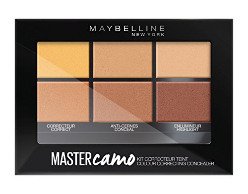 Camo Make-up-kit (Maybelline New York Master Camo - Corrector Kit für mittleren Hautton 02, 6,5 g)