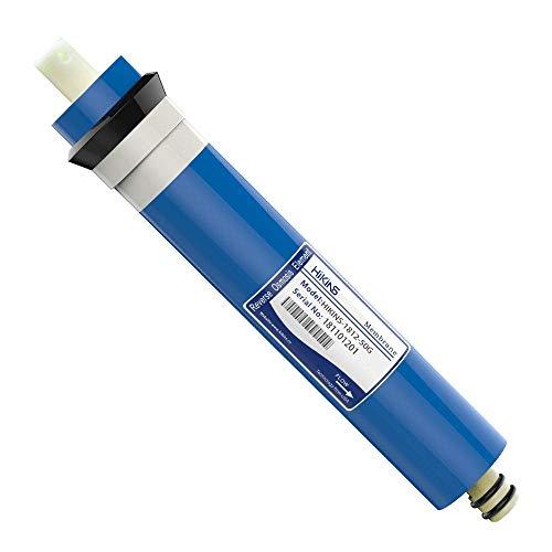hikins 1812–50GPD RO ósmosis inversa membrana hogar purificador de agua Ro Universal Compatible con filtro de repuesto para casa purificador de agua de ósmosis inversa)