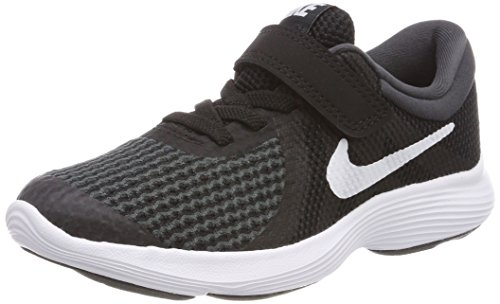 Nike Unisex-Kinder Revolution 4 (PSV) Sneaker, Schwarz (Black/White-Anthracite 006), 30 EU