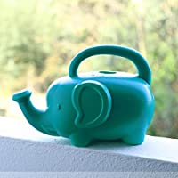 AELTD Watering can watering can, elephant watering kettle, sprinkler watering can, plastic water bottle, children