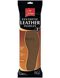 Synthetic leather insoles - 2 pair pack