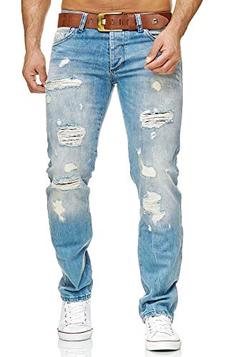 Redbridge by Cipo & Baxx Herren Jeans RB-1712, Blau, W33 / L34
