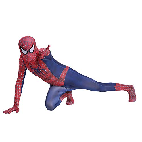 DSFGHE Erwachsene Kinder Spiderman Kostüm Siamesische Strumpfhosen Maskerade Halloween Show Dress Up Kostüm Movie ()