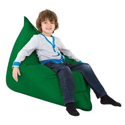 Kids BAZ BAG GREEN Beanbag Chair - Indoor & Outdoor Kids Bean Bags by Bean Bag Bazaar