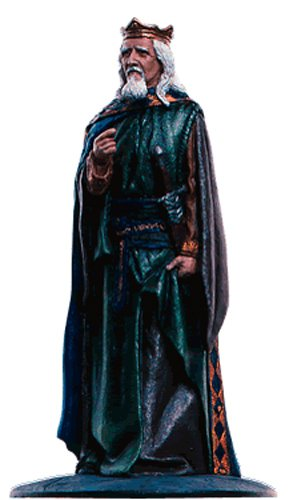 Lord of the Rings Señor de los Anillos Figurine Collection Nº 87 King of Men 1