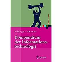 Kompendium der Informationstechnologie: Hardware, Software, Client-Server-Systeme, Netzwerke, Datenbanken