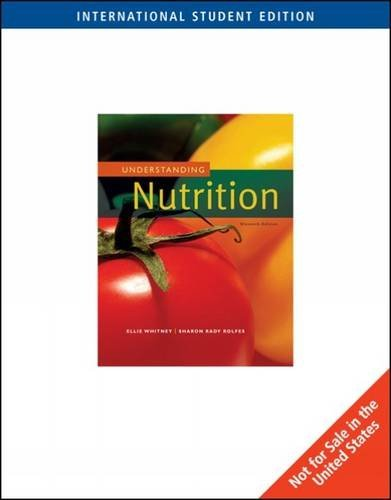 Understanding Nutrition, ISE by Eleanor Whitney (2007-05-26)