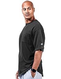 Champion Big & Tall Hombres camiseta de manga corta de bolsillo del jersey