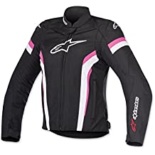 Alpinestars – cazadora moto – Alpinestars estrella T-Gp Plus R V2 Air Negro Blanco Fuchsia MEDIUM