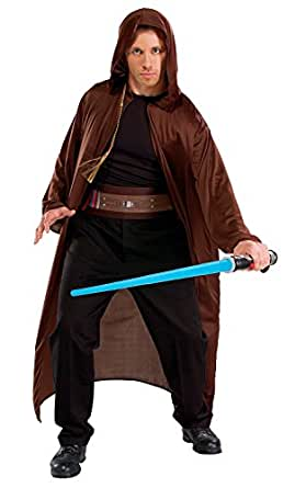 Rubie's Official Star Wars Jedi with Light Saber, Adult Costume