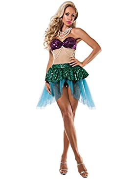 Nihiug Halloween Costume Adult Maschera Femminile Sirena Costume Studio Fotografia Sexy Cosplay Passerella Abbigliamento...
