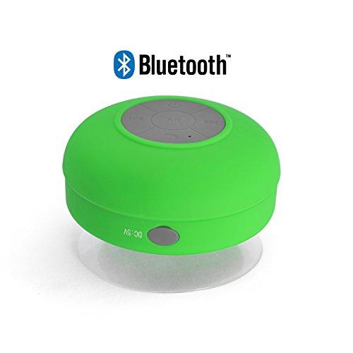 Incutex Bluetooth Lautsprecher Dusche Wireless Lautsprecher Badezimmer Bad  Lautsprecher Bluetooth, Grün