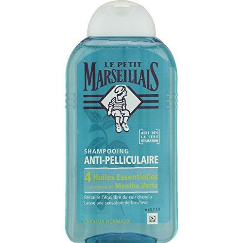 Le Petit Marseillais Anti-Schuppen Shampoo, 4Ätherischen Ölen und Minze Grüne-(Preis pro Einheit)-Schneller und gepflegte -