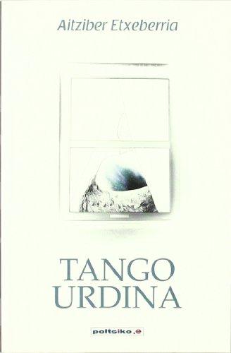 Portada del libro Tango urdina (Poltsiko.e)