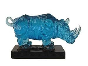 Feng Shui Import - Statue de Rhinocéros Bleu
