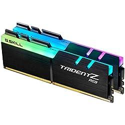 G.Skill F4-3000C15D-16GTZR Trident Z RGB Series 16GB DDR4 16GB DDR4 3000MHz módulo de - Memoria (16 GB, DDR4, 3000 MHz, PC/server, 288-pin DIMM, 2 x 8 GB)